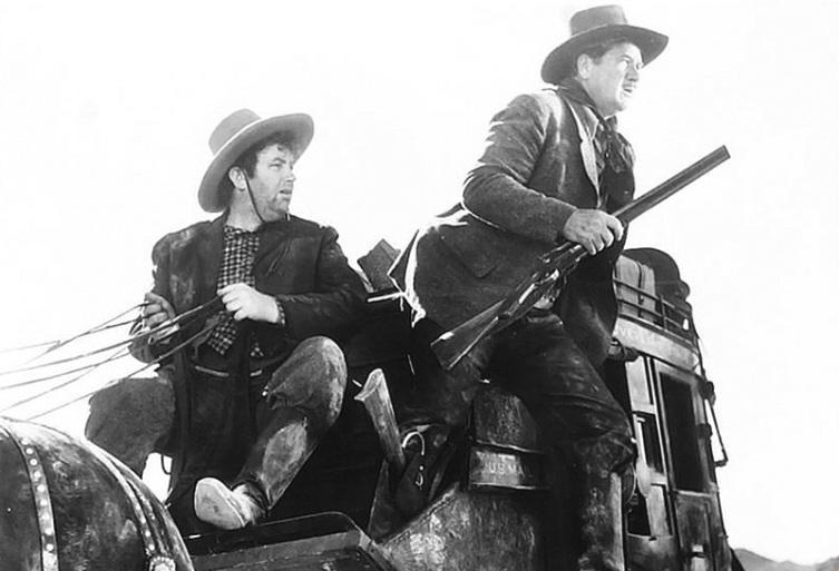 Кадр из к/ф «Дилижанс», 1939 г.