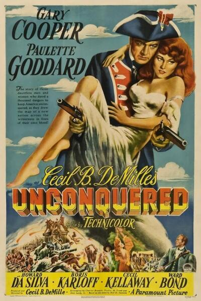 Постер к фильму «Непобеждённый», 1947 г.