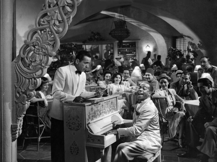 Кадр из к/ф «Касабланка», 1942 г.