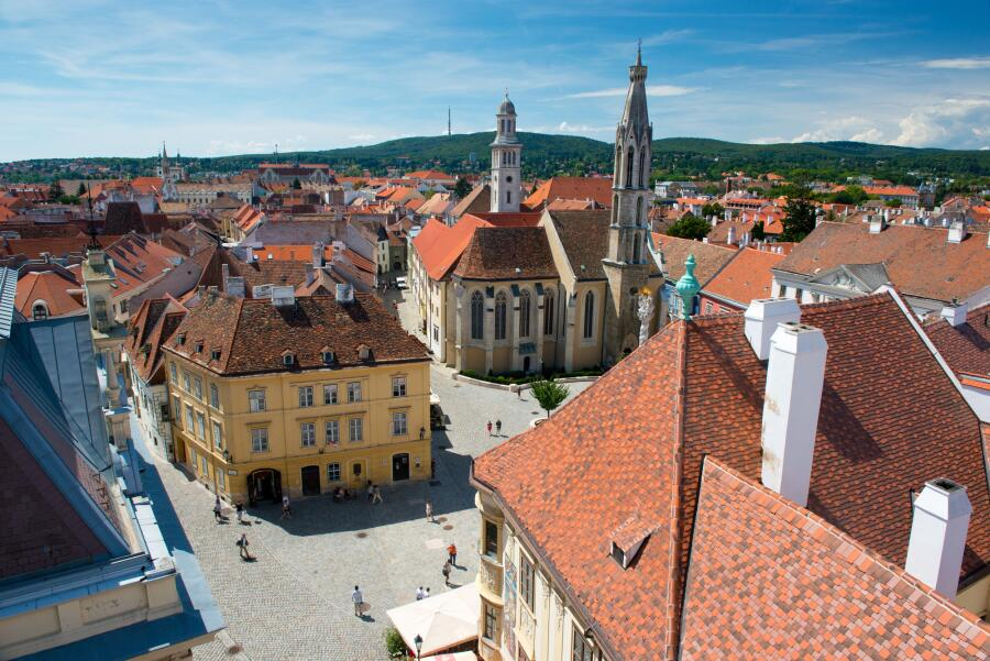 Город Шопрон, Венгрия