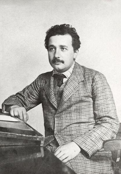 Альберт Эйнштейн, 1905 г.