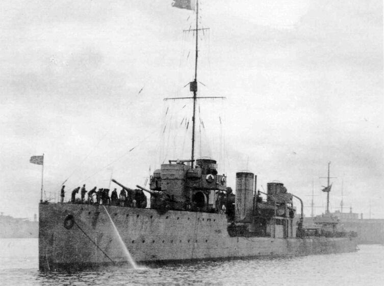 Эскадренный миноносец «Изяслав», 1921г.