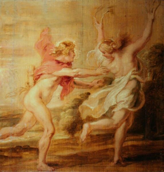 Питер Пауль Рубенс, «Аполлон и Дафна», 1636 г.