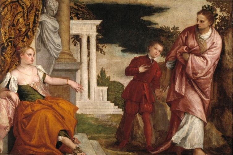 Паоло Веронезе, «Юноша между Пороком и Добродетелью», 1581 г.