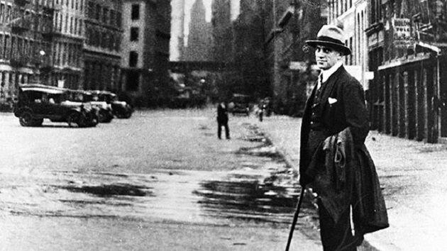 Владимир Маяковский, 1925 г., Нью–Йорк