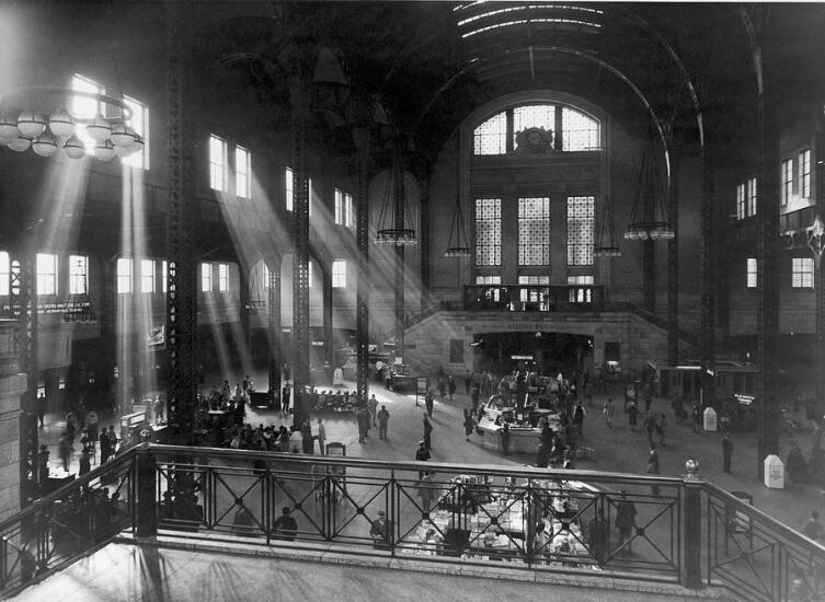 Станция Чикаго Юнион, около 1925 года