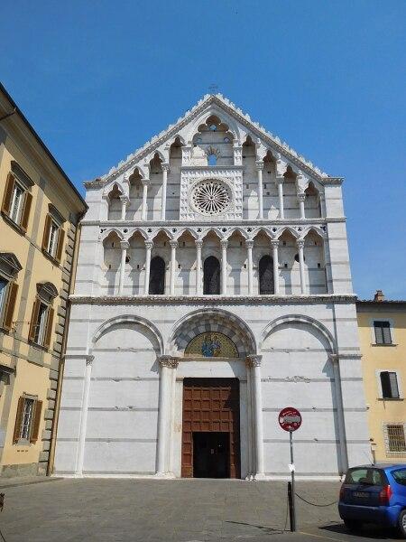 Церковь Святой Катерины в городе Пиза