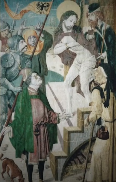 Средневековая фреска