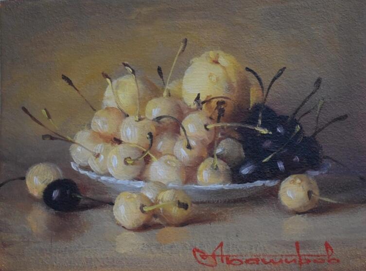 Andrey Bashirov, «Черешня и абрикосы», 2019 г.