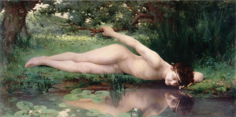 Жюль-Сириль Каве, «Нарцисс», 1890 г.