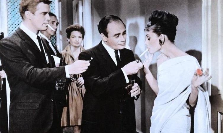 Кадр из к/ф «Завтрак у Тиффани», 1961 г.