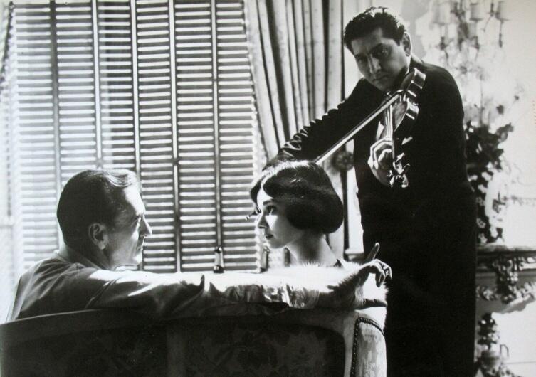 Кадр из к/ф «Любовь после полудня», 1957 г.