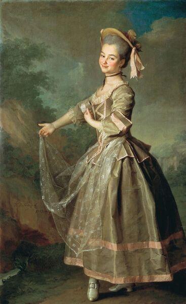 Д. Г. Левицкий, «Портрет Екатерины Ивановны Нелидовой», 1773 г.