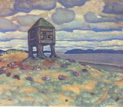 Н. К. Рерих, «Изба смерти», 1905 г.
