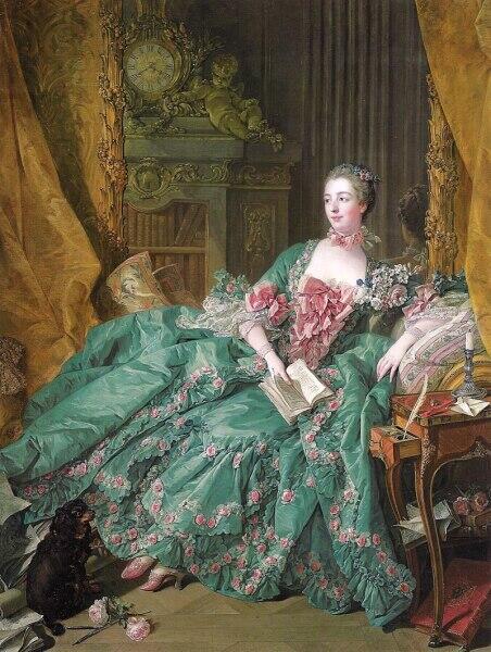 Франсуа Буше, «Маркиза де Помпадур», 1756 г.