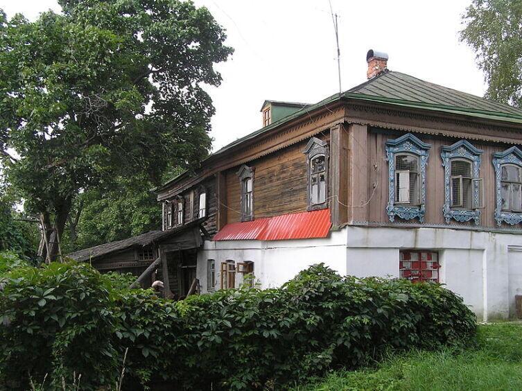 Дом В. А. Солоухина в селе Алепино