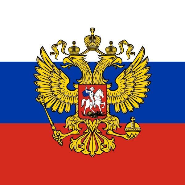 Официальный рисунок штандарта Президента России