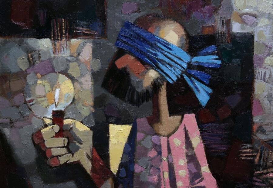 Андрей Анатольевич Шустов, «Невидимое» (фрагмент), 2015 г.