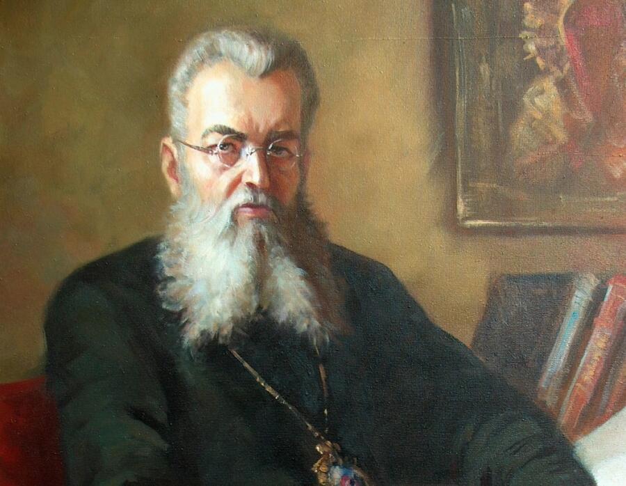 Виталий Викторович Жердев, «Архиепископ Крымский Лука (Войно-Ясенецкий)» (фрагмент), 2004 г.