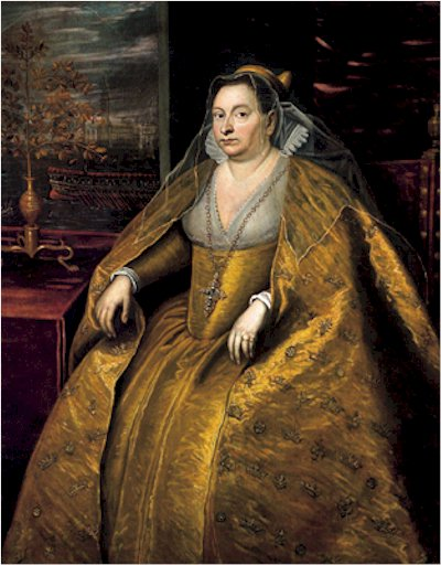 Доменико Тинторетто, «Догаресса Моросина Моросини», 1590-е гг.