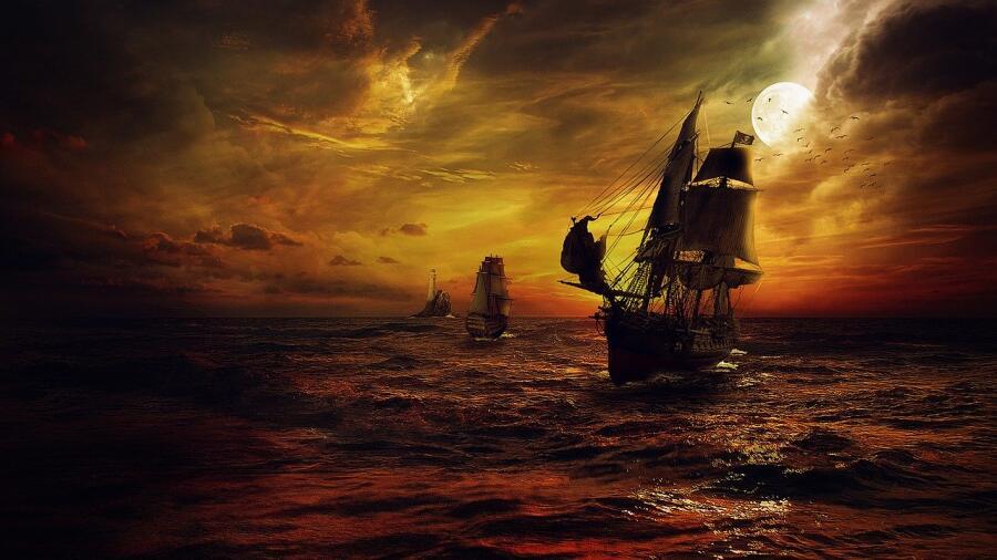Кем были пираты Золотого века пиратства? Современная мифология и реальная история