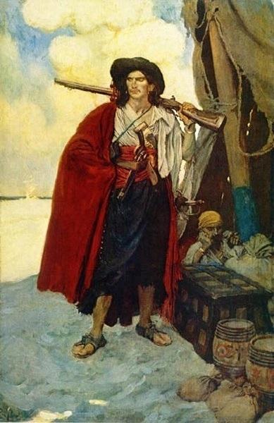 Говард Пайл, «Пират»