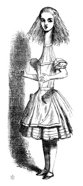 Иллюстрация Джона Тенниела из«Алисы в Стране чудес»