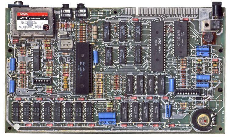 Плата ZX Spectrum 48