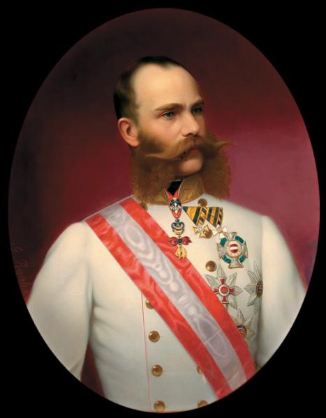 Георг Рааб, «Франц Иосиф в форме фельдмаршала, 1885 г.