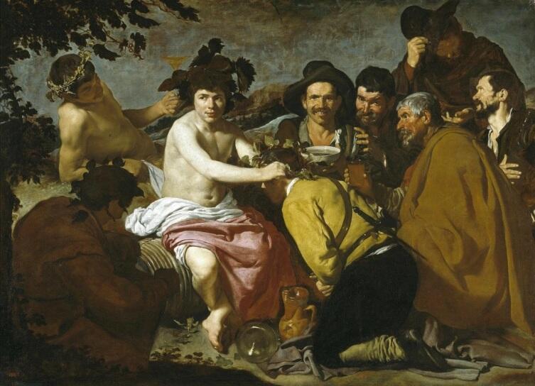 Диего Веласкес, «Триумф Вакха (Пьяницы)», 1629 г.
