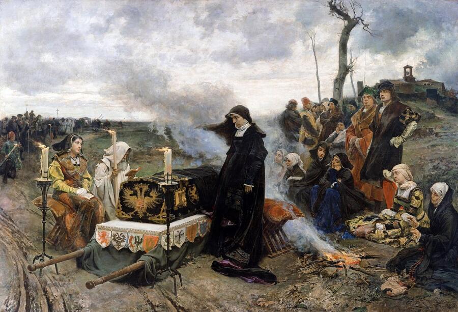 Франсиско Прадилья-и-Ортис, «Донья Хуана Безумная», 1878 г.