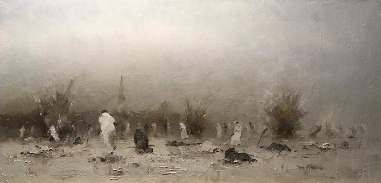 Александр Чепель, «Штурм Кронштадта 1921г.», 2019 г.