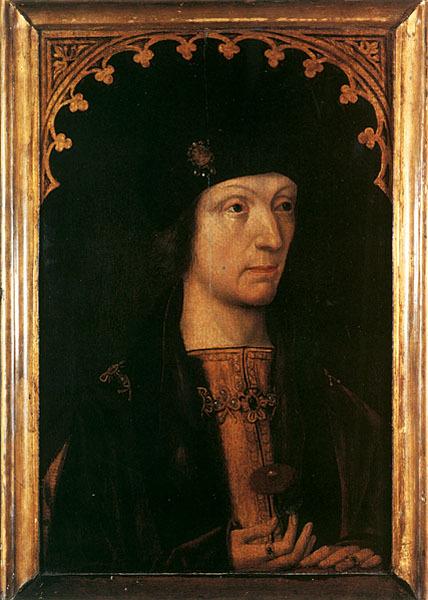Король Генрих VII около 1500 г.