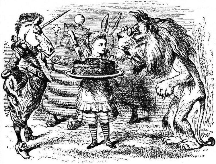 Иллюстрация Джона Тенниела