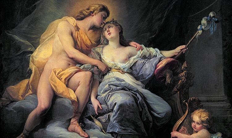 Антуан Буазо, «Аполлон и Левкотоя» (фрагмент)