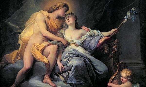 Левкотоя и Аполлон. Как любовь к богу привела к смерти?