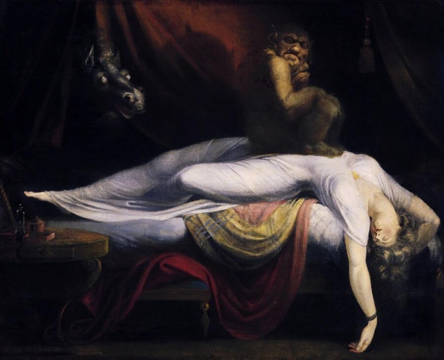 Иоганн Генрих Фюссли, «Ночной кошмар», 1781 г.