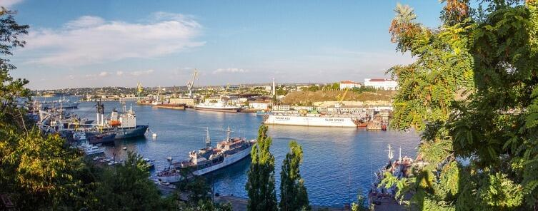Чёрное море, Крым