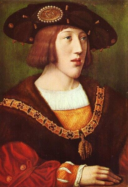Бернарт ван Орлей, «Молодой Карл V»