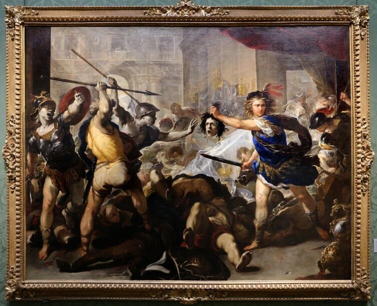Лука Джордано, Свадьба Персея, 1680, 285×366 см, Национальная галерея, Лондон, Англия
