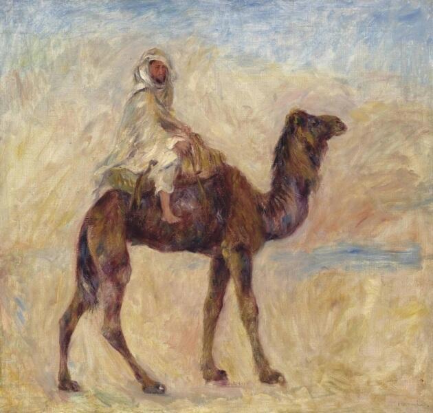 Пьер Огюст Ренуар, «Наездник на верблюде», 1881 г.