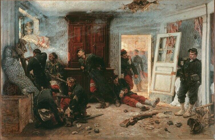 Альфонс де Невиль, «Последние патроны», 1873 г.