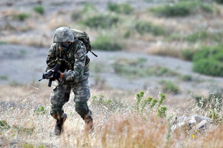 1-е место у военнослужащих