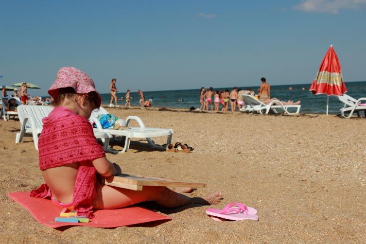 Какой пляж Крыма выбрать для отдыха? Генеральские пляжи