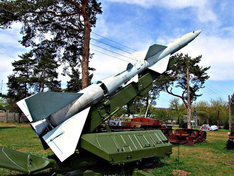 Зенитная ракета С-75 «Двина»