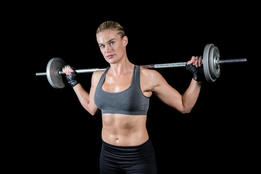 Какие упражнения со штангой делать женщинам?