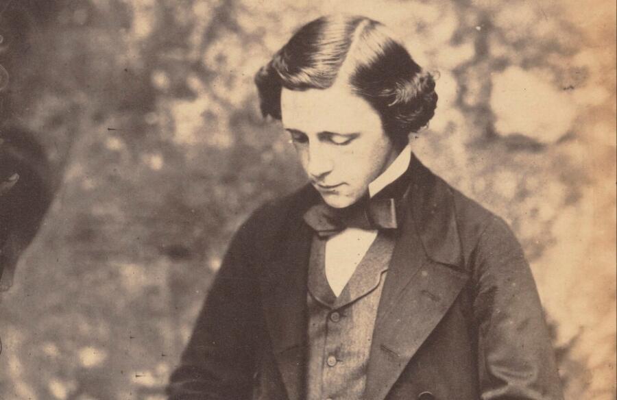 Льюис Кэрролл, автопортрет 1856 г.