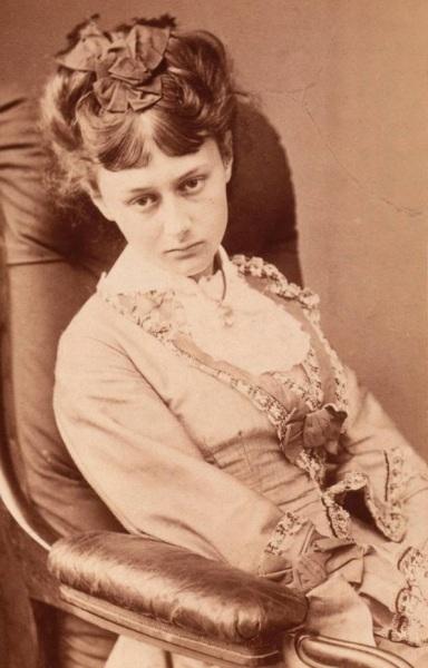 Алиса Лидделл в 1870 г.