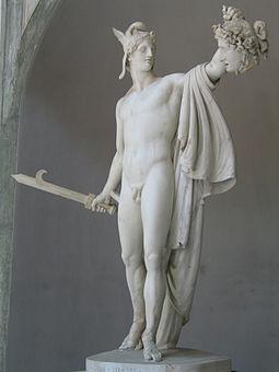 Персей с головой Медузы Горгоны, Антонио Канова, Ватикан