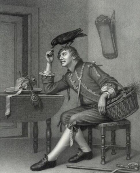 Чарльз Диккенс и его Ворон